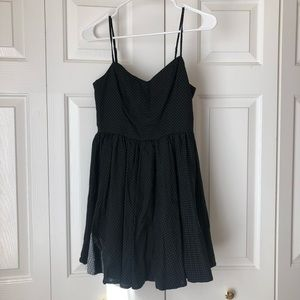 Urban Outfitters Micro-polka dotted dress